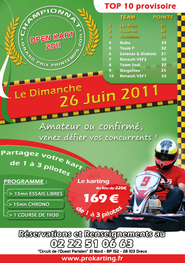 Course d'endurance le Dimanche 26 Juin 2011