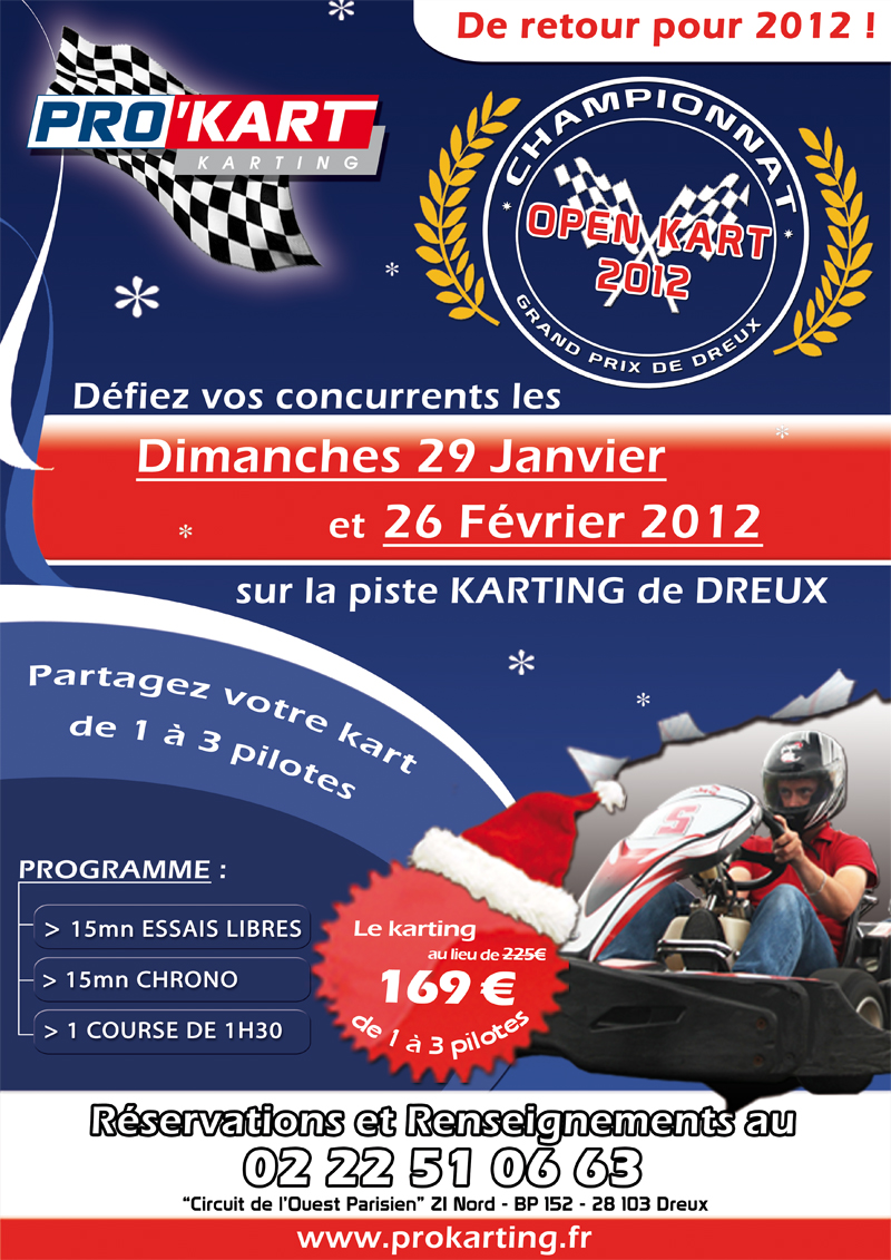 Courses d'endurance Karting